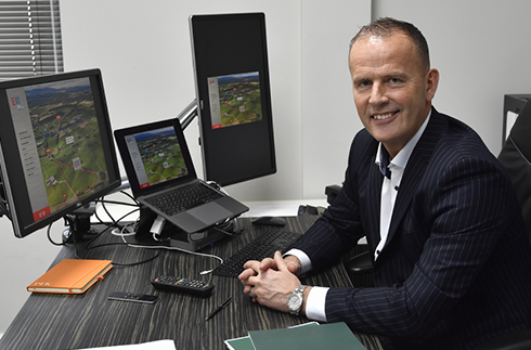 Managing Director Stephen Lancaster has big plans for Eden development