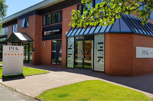 PFK open new office at Rosehill Business Park, Carlisle
