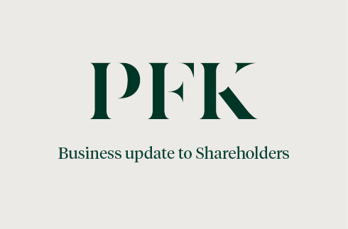 Business Update to Shareholders