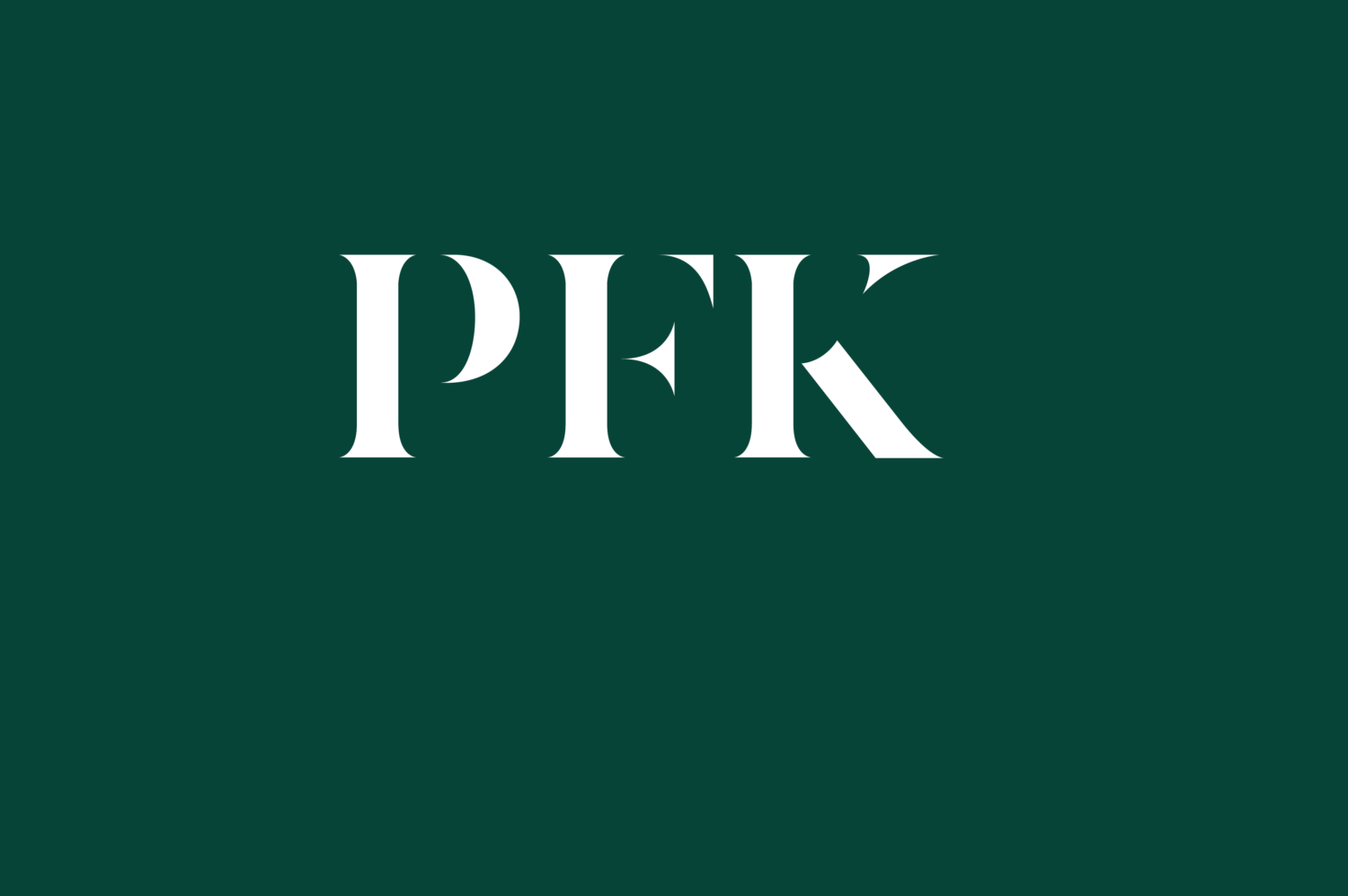 Welcome from PFK